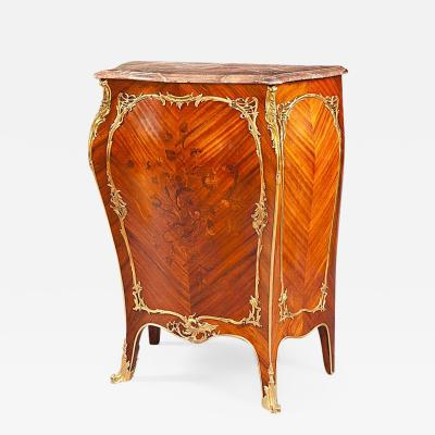 19th Century Louis XV Style Side Cabinet in the Manner of J E Zwiener