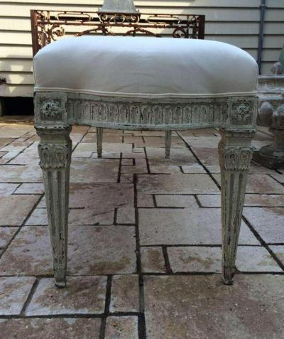 19th Century Louis XVI Bench