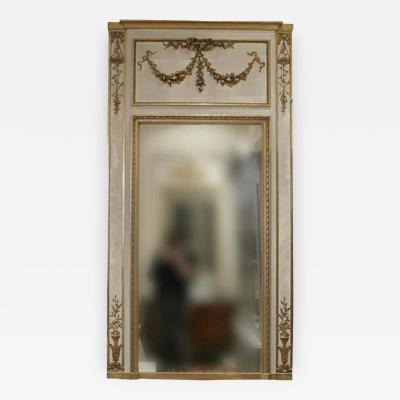 19th Century Louis XVI Trumeau Mirror