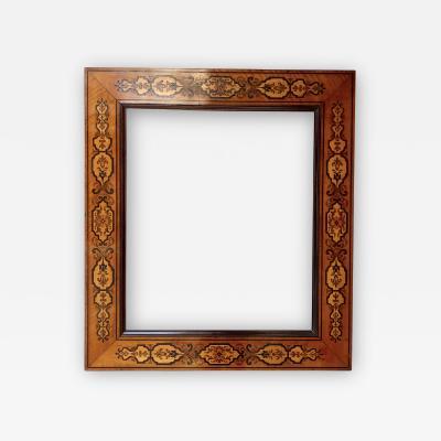 19th Century Marquetry Frame