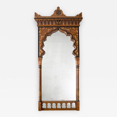 19th Century Moorish Mirror from Yves Saint Laurent s Datcha