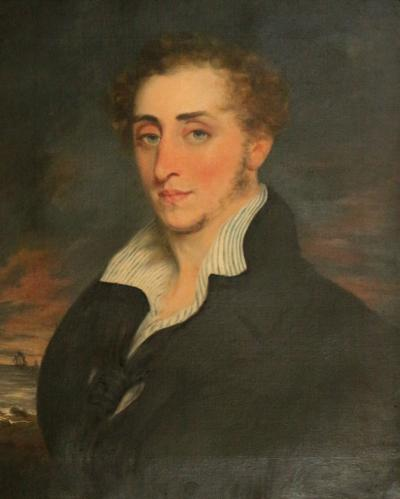 19th Century Nautical Oil Painting