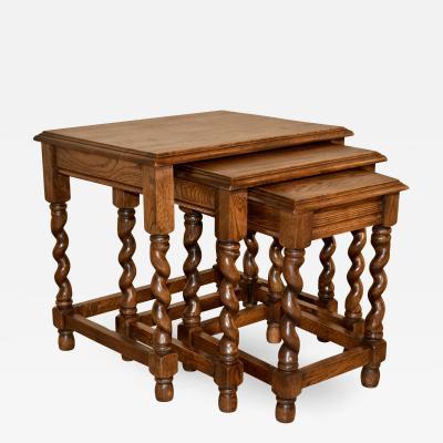 19th Century Nest of Three Tables