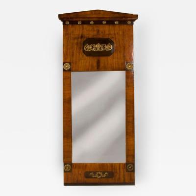 19th Century Northern European Neoclassic Biedermeier Mirror