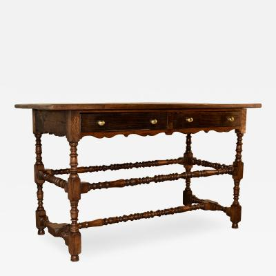 19th Century Oak Hall Table