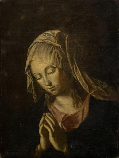 19th Century Painting of the Madonna