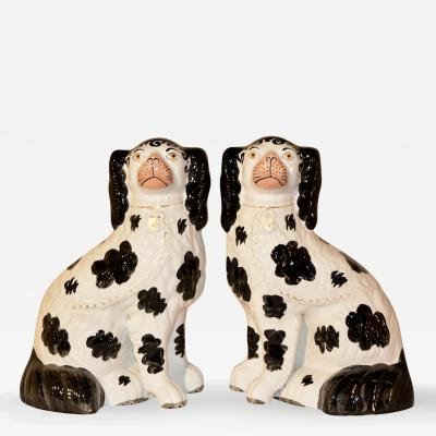 19th Century Pair of Disraeli Spaniels