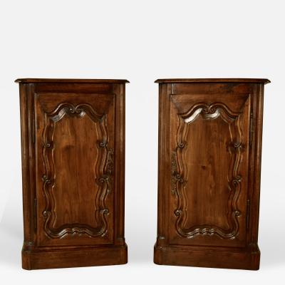19th Century Pair of French Cupboards