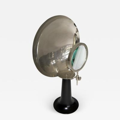 19th Century Parabolic Magnifier Medical Lamp Candle Sconce