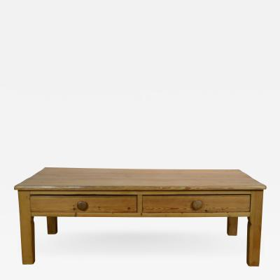 19th Century Pine Coffee Table