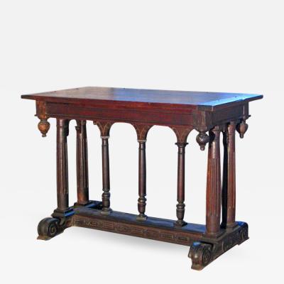 19th Century Renaissance Style Table