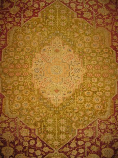 19th Century Silk Sirvas Rug