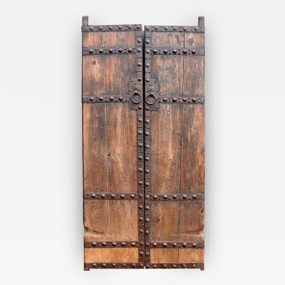 19th Century Solid Wood Chinese Doors