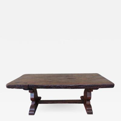 19th Century Spanish Trestle Table