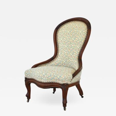 19th Century Spoonback Side Chair