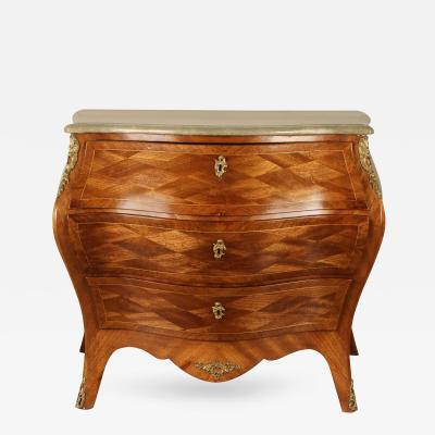 19th Century Swedish Roccoo Style Chest of Drawers