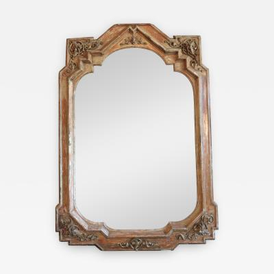 19th Century Tall Italian Neo Gothic Mirror
