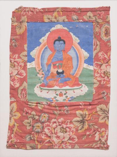 19th Century Tibetan Shakyamuni Thangka