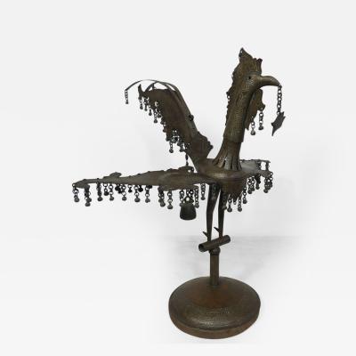 19th Century Tribal Metal Sculpture SariManok