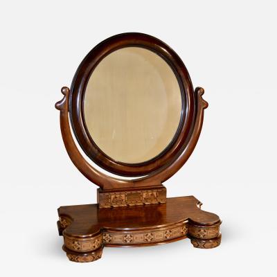 19th Century Tunbridge Dresser Mirror