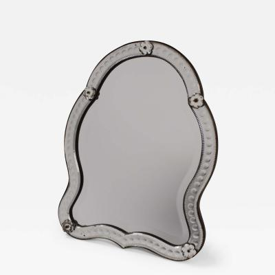 19th Century Venetian Wall Table Top Mirror