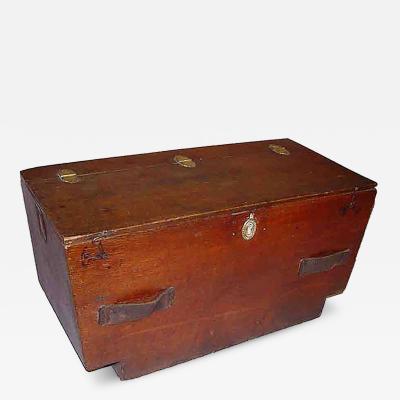 19th c English Ship s Box