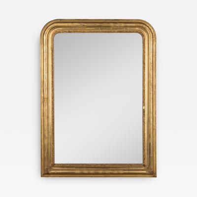 19th c Louis Philippe Style Gilded Mirror