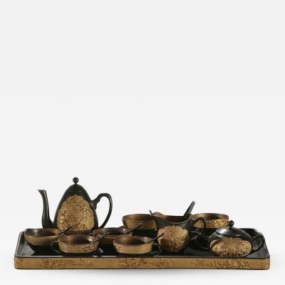 19th century french decorative tea set around 1870 s