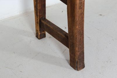 19thC Large Welsh Pine Waiting Room Bench