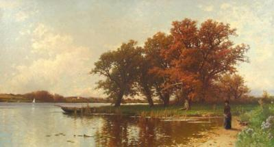 Alfred Thompson Bricher Early Autumn on Long Island c 1886 90