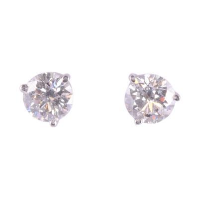 2 0 CTW Diamond Stud Earrings