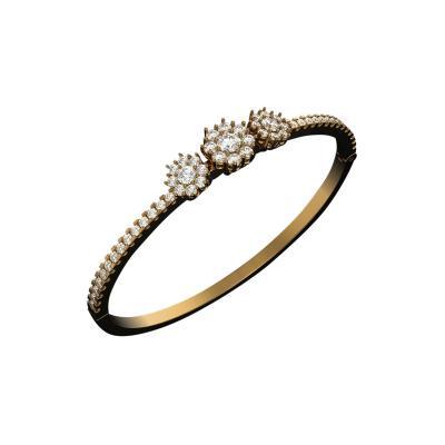 2 13 Carat Diamond Bracelet 14K White Gold