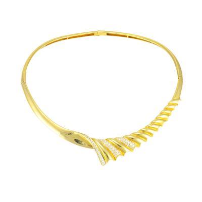 2 14 Carat Total Weight Diamond Collar Necklace