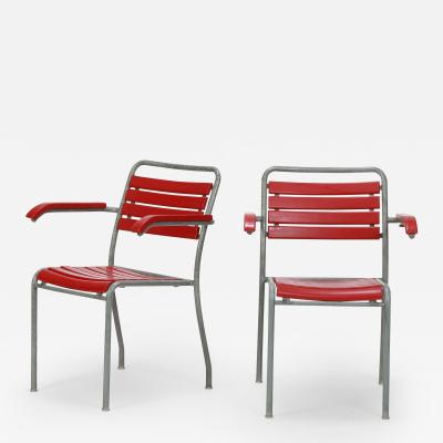 2 Garden Chairs Embru Werke 50s
