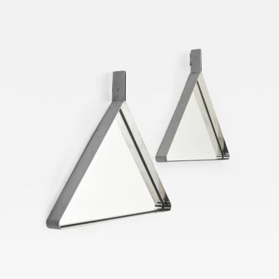 2 Large Mondellini Tria Mirrors