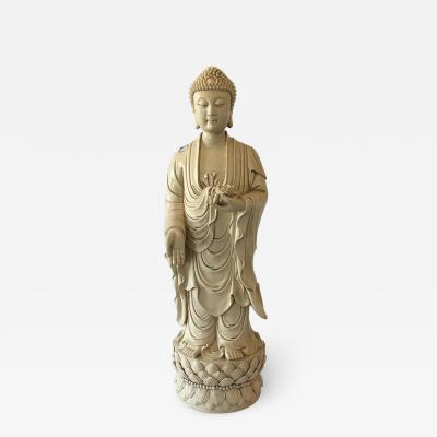 20th Century Blanc de Chine Buddha