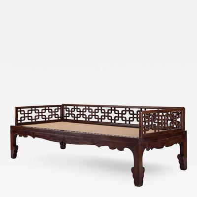 20th Century Chinese Louhan Bed