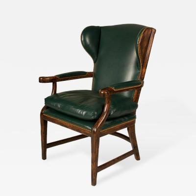 20th Century English Country House Wingback Chair