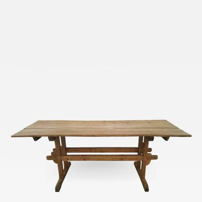 20th Century Fab Trestle Table