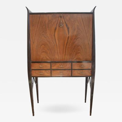 20th Century Italian Art Deco Secretary Desk