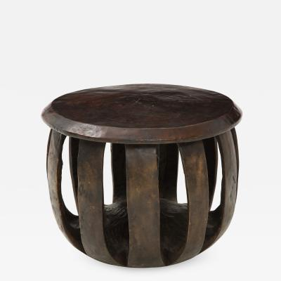 20th Century Round African Table