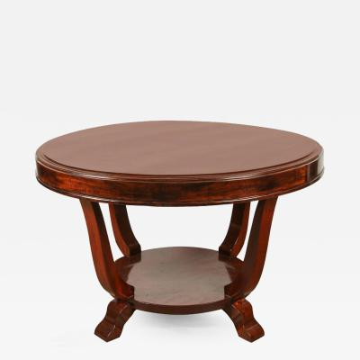 20th Century Round Rosewood Table