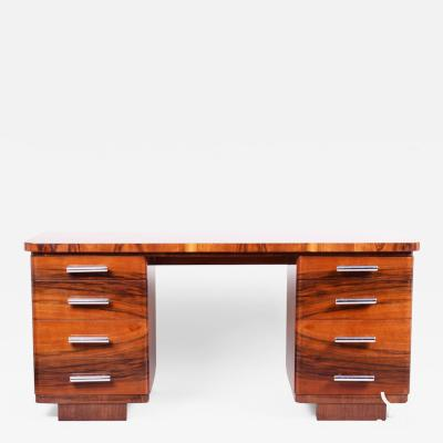 20th century Art Deco Czech Writing desk