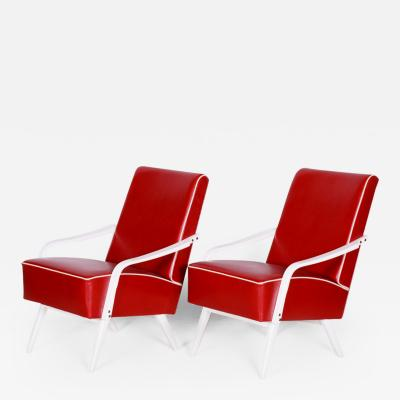 20th century Czech Pair of armchairs