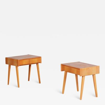 20th century Czech Pair of bedside tables
