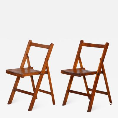 20th century Czech Pair of chairs
