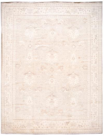 21st Century Contemporary Modern Oushak wool Rug 11 X 15