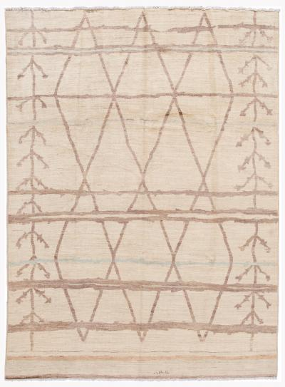 21st Century Contemporary Moroccan Style Wool Rug