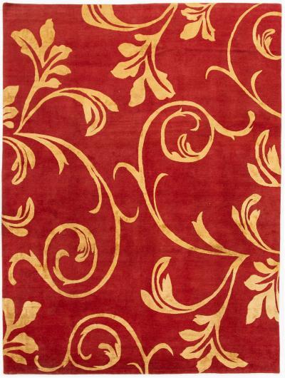 21st Century Modern Nepalese Wool Rug 9 x 12