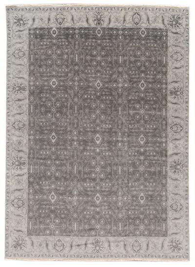 21st Century Modern Oushak Wool Rug 11 X 14